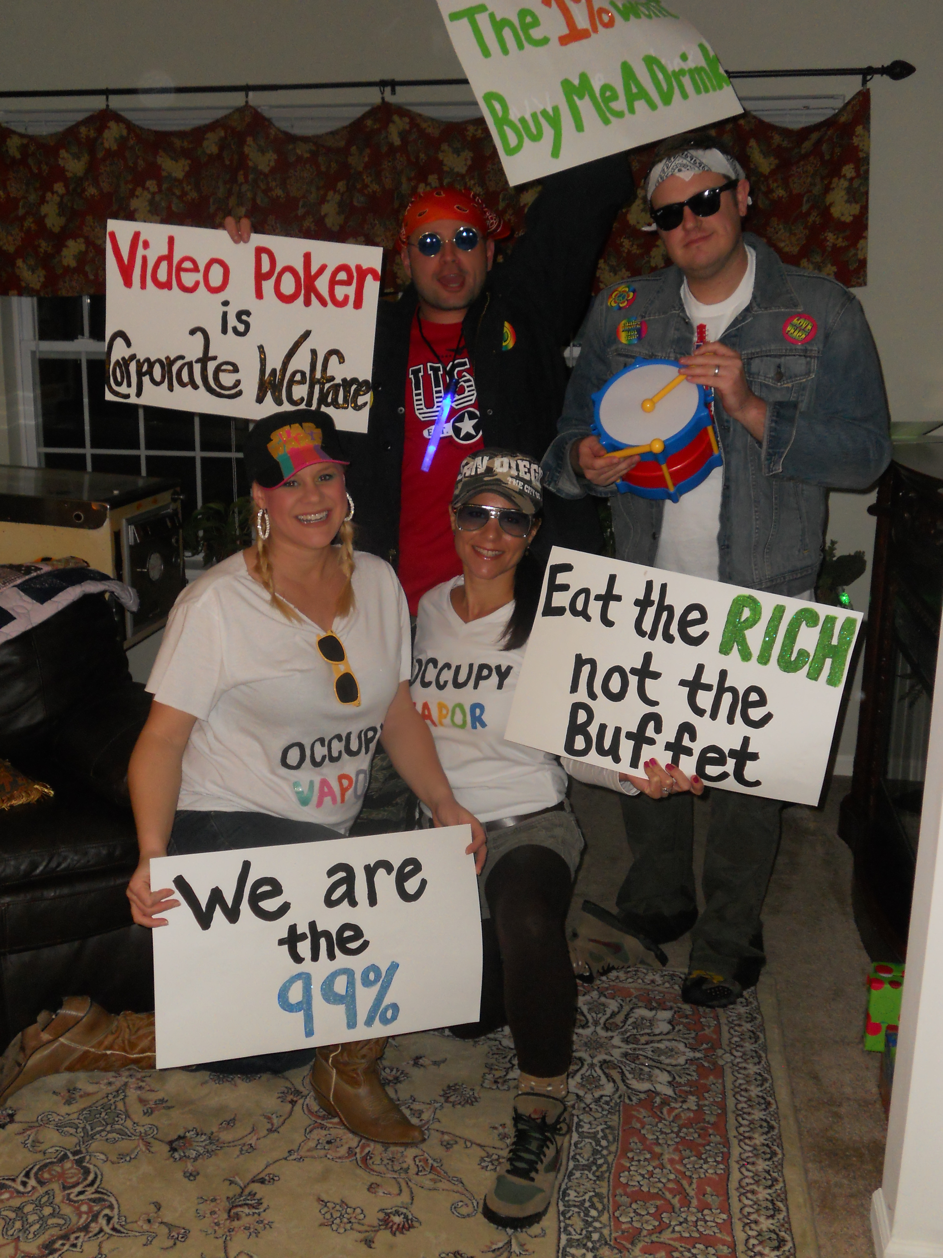 Saratoga Halloween Protesters Fail to Occupy Vapor - I Heart NY Y ...