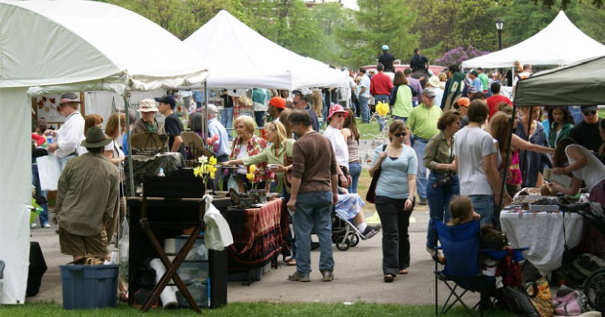outdoor vendor event