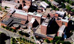 Aerial View of Albany Medical