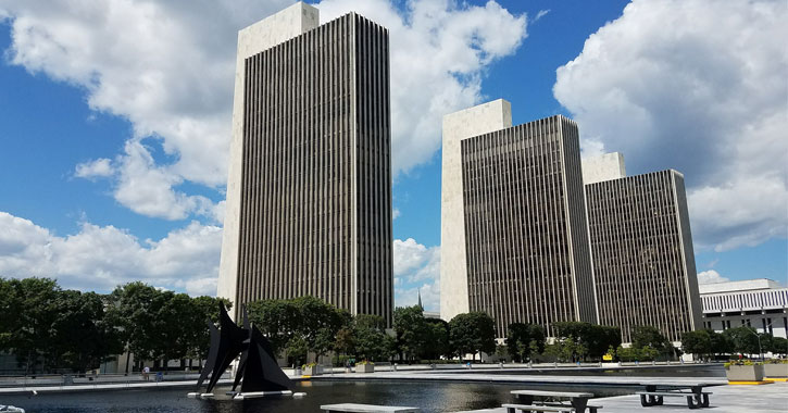 three towers in Albany