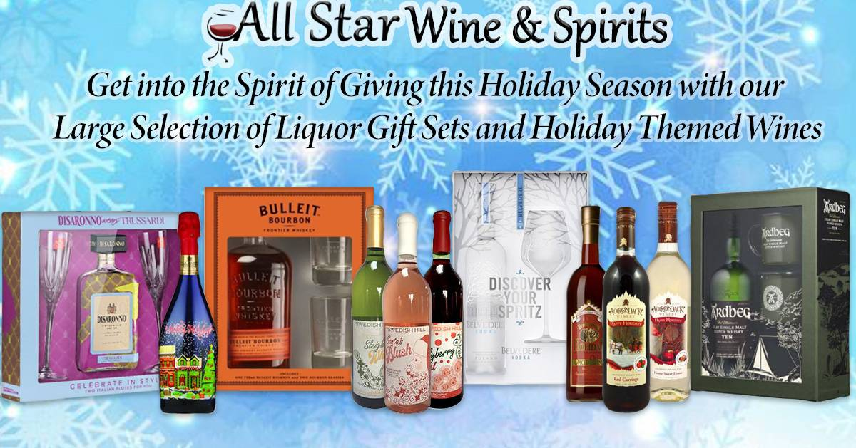 all star wine products promo