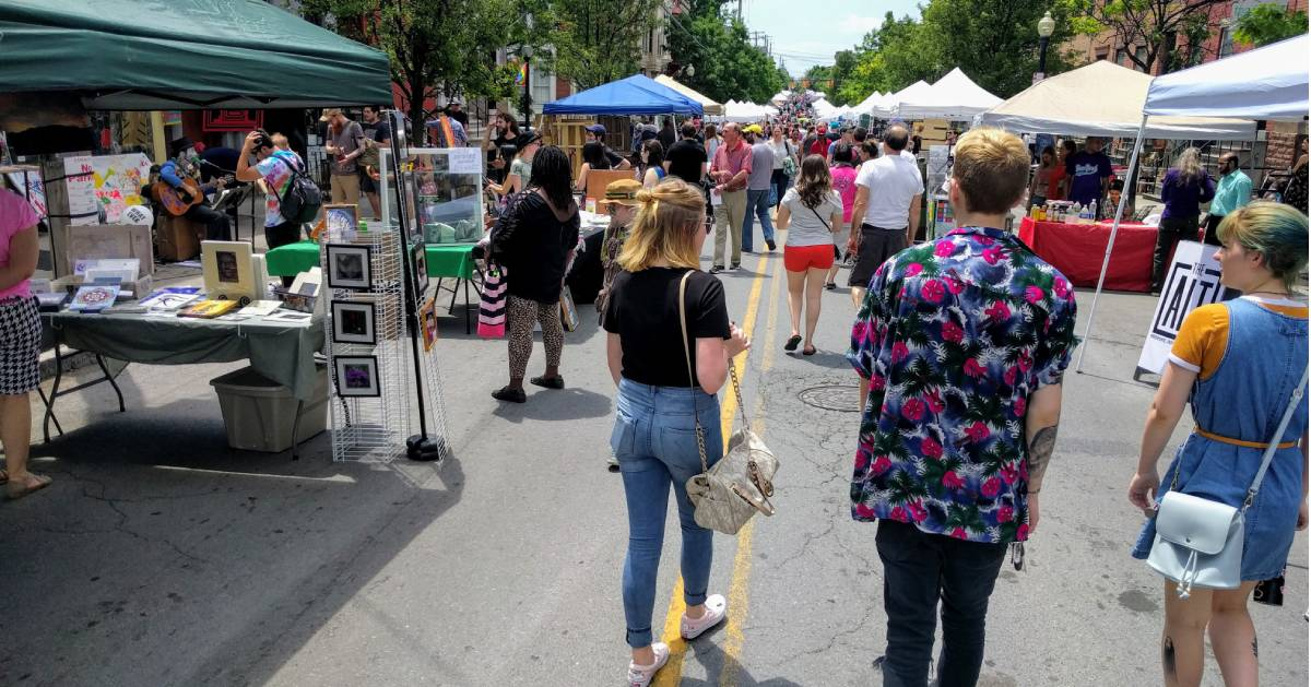festival on street