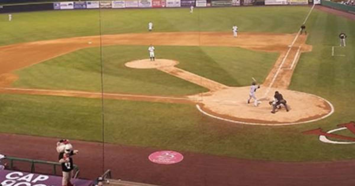valleycats baseball game field