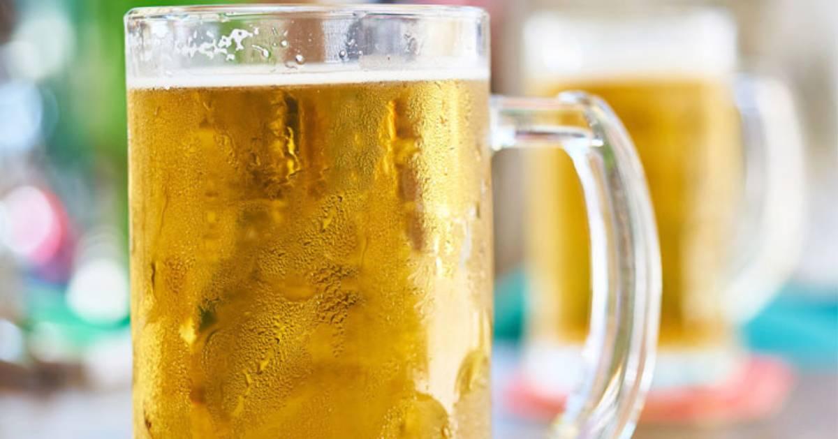 big glass mug of beer