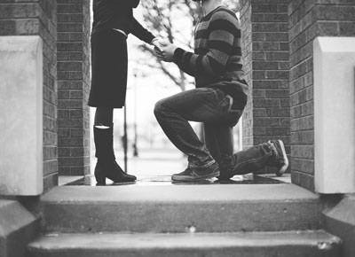 person proposing