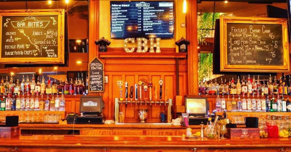 city beer hall bar
