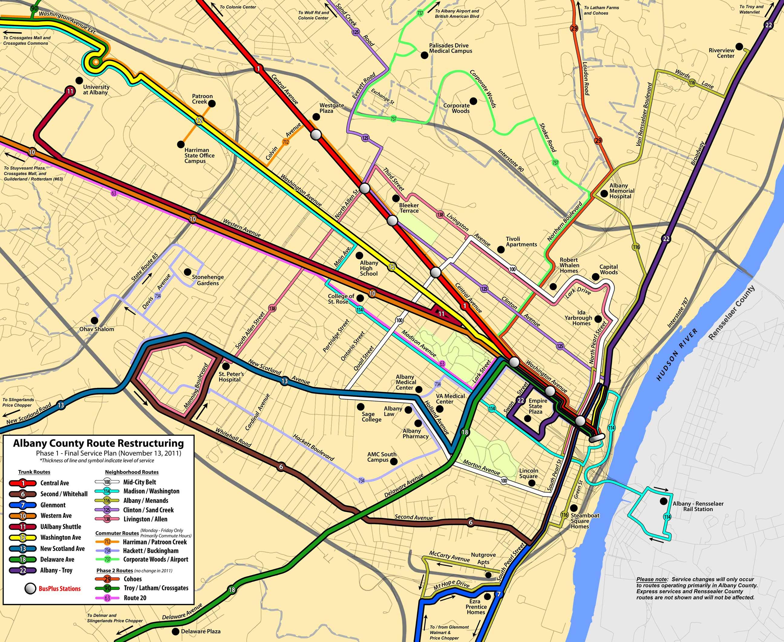 Cdta Bus Routes