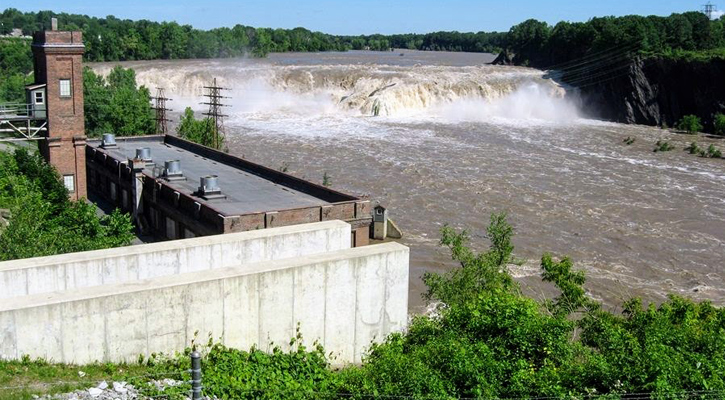 view of the Cohoes Falls