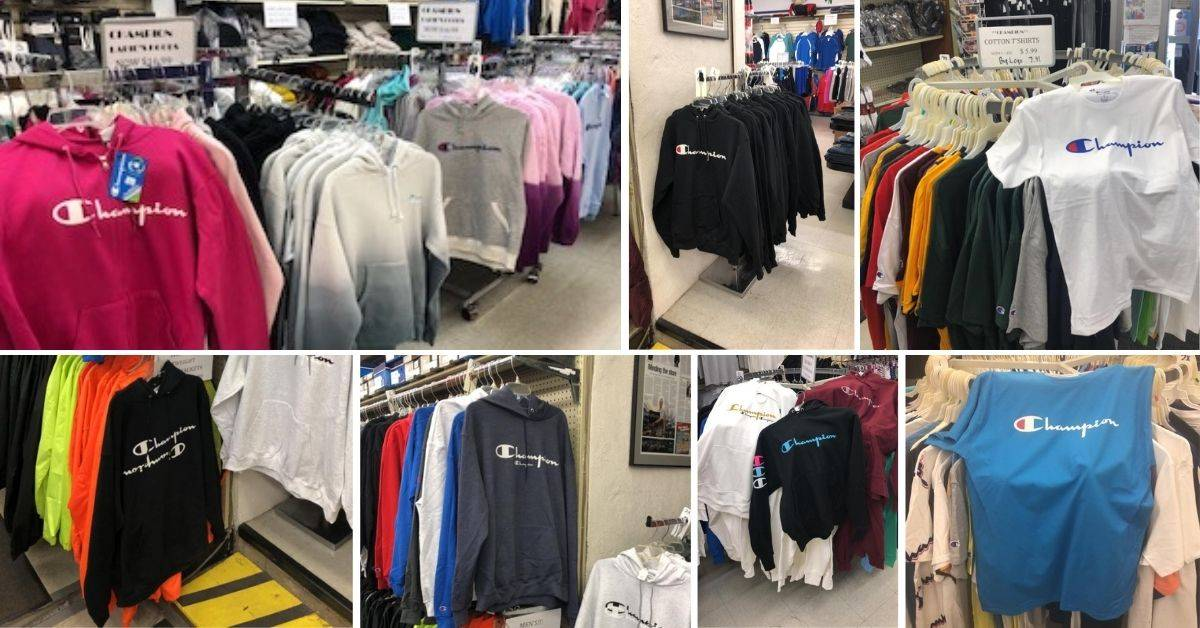 a collage of different athletic clothing
