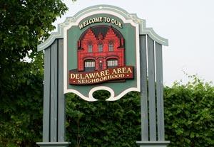 Delaware Area Neighborhood in Albany NY
