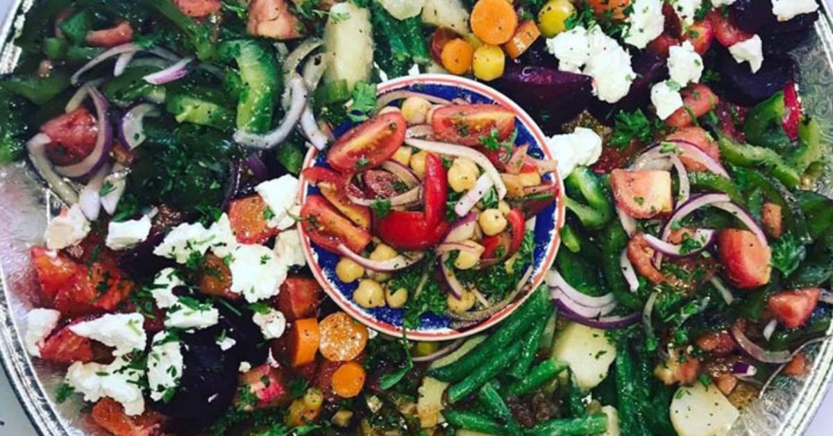 a veggie bowl