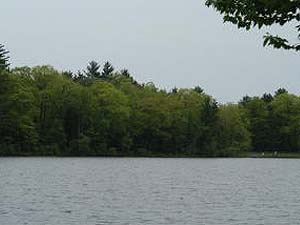 View of Grafton Lakes State Park Near Troy and Albany