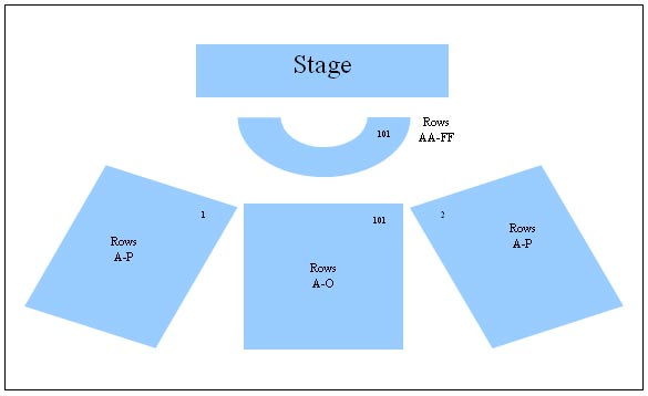 The Egg Hart Theater Seating Chart