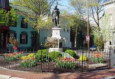 Statue in Historic Schenectady, NY