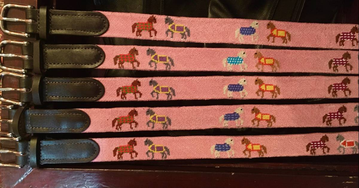 horse themed belt