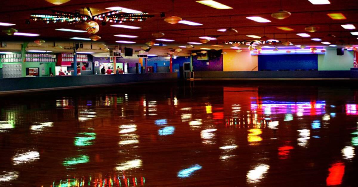 indoor roller skating arena