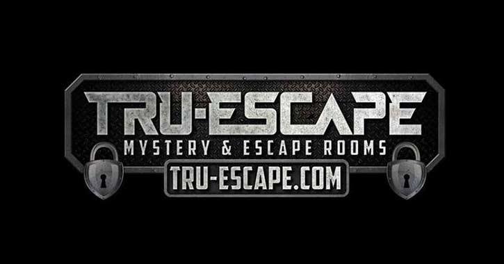 Logo for Tru-Escape Mystery and Escape Room
