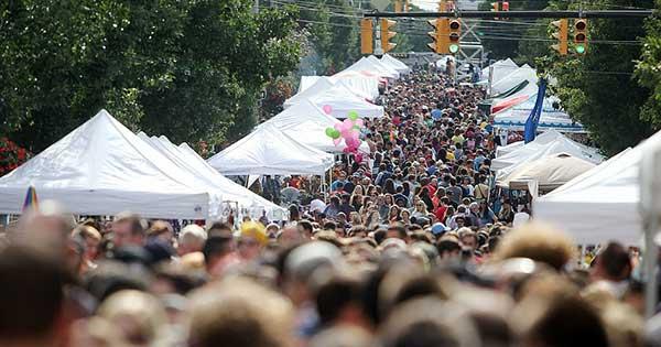 Lark FEST On Lark Street In Albany NY