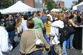 Crowds At LarkFEST