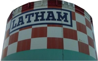 Old latham water tower