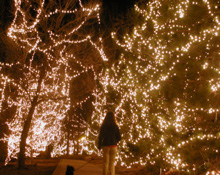 white city holiday lights
