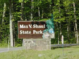 Entrance to Max V. Shaul: A NY State Park