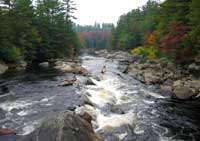 Moose River in Old Forge