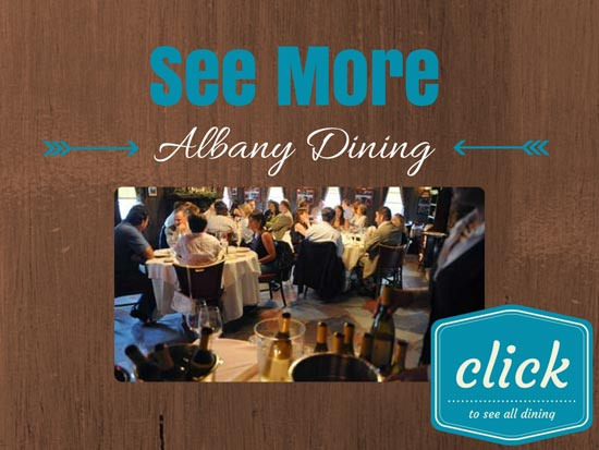 see more graphic for Albany dining