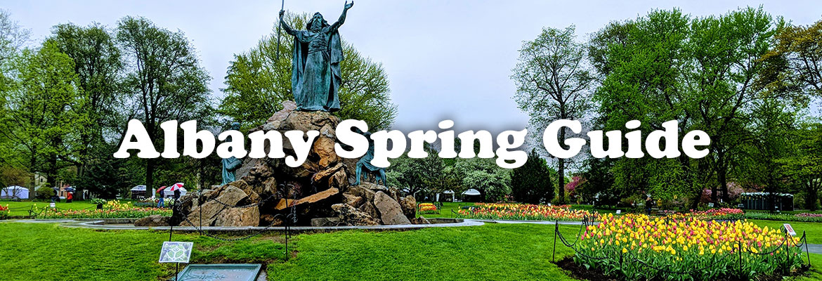 albany spring guide photo in park