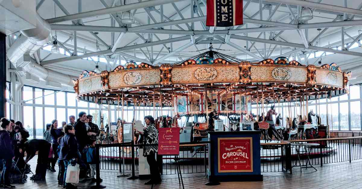 carousel at new york state museum