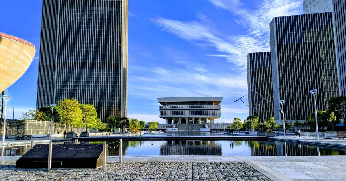 the new york state museum in empire state plaza