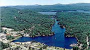 Old Forge NY Aerial View