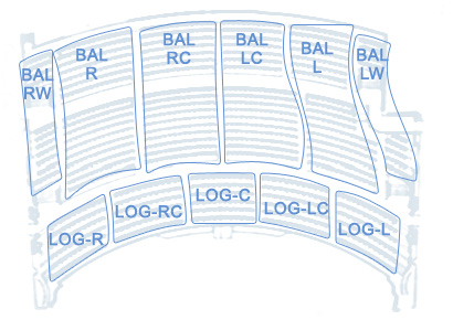 Palace Theatre Balcony Seating Chart