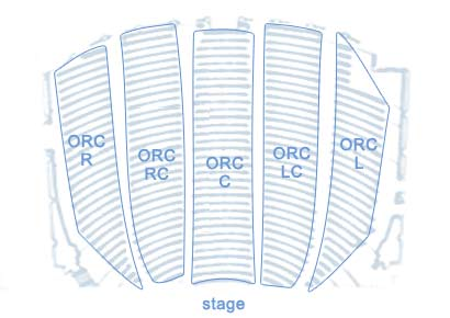 Palace Theatre Orchestra Seating Chart