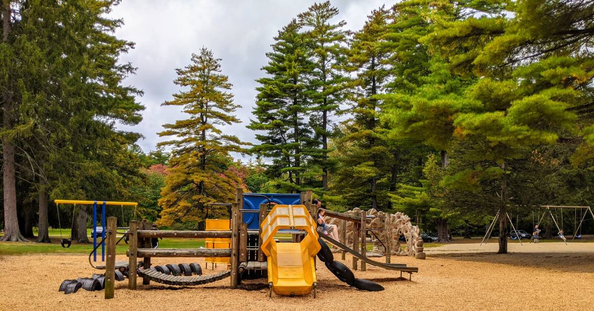 playground in a park