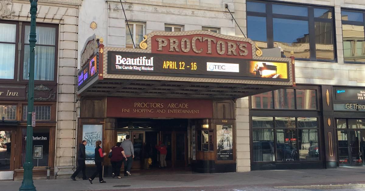 entrance to proctors