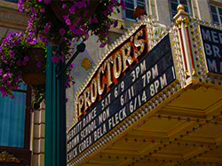 Proctors marquee sign