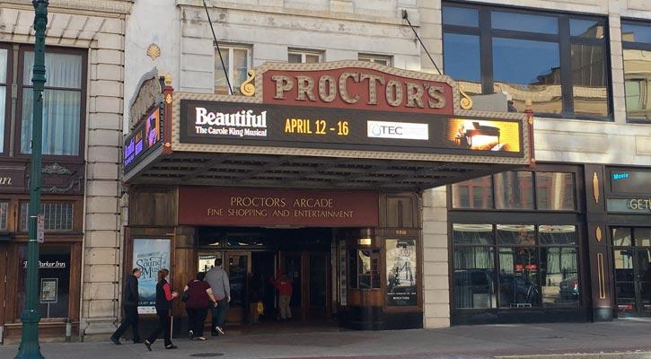 front of Proctors