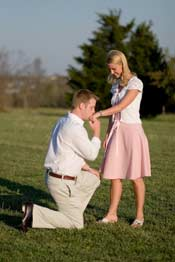 Proposal on Bended Knee