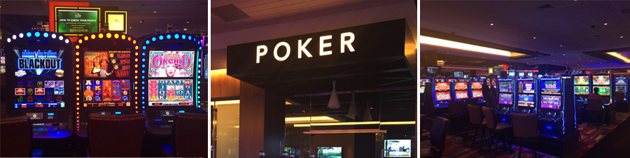 games inside rivers casino