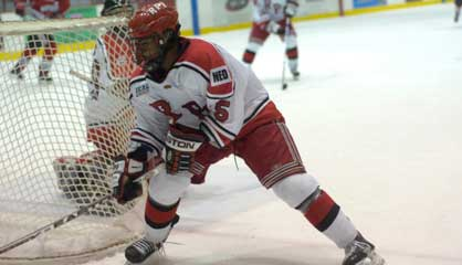 RPI Men's Hockey Captain John Kennedy