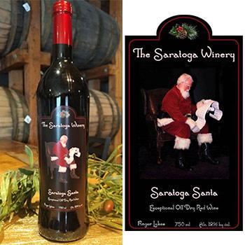 saratoga santa wine