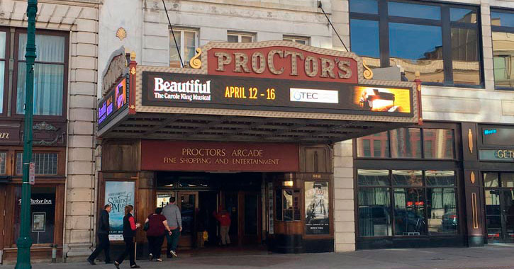 the outside of Proctors
