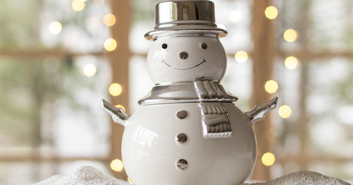 a snowman decoration