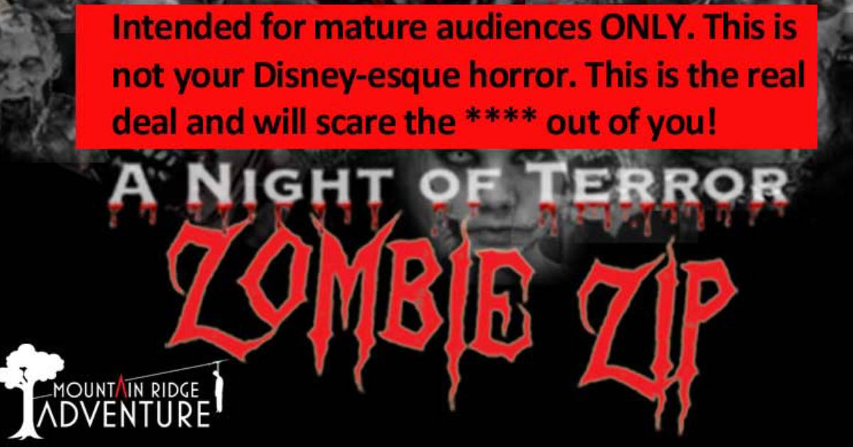 Zombie Zip Line poster