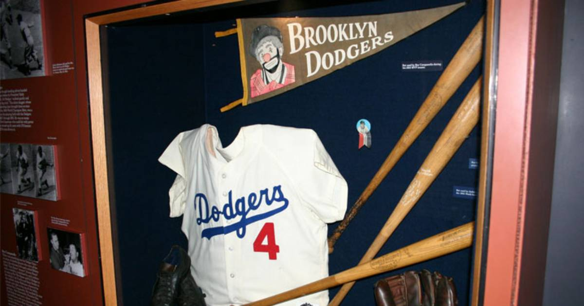 baseball display