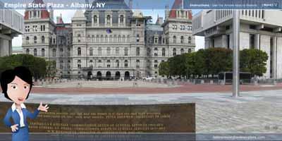 Virtual Tour of Empire State Plaza
