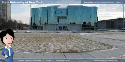 Virtual Tour of SUNY Albany Campuses