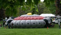 Inflatable at Tulip Fest