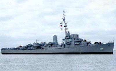 USS Slater Former Battleship In Albany NY